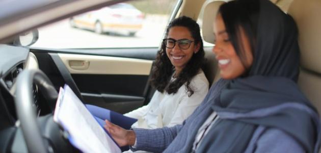 مدربات قيادة في الكويت